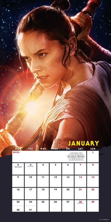 Kalender 2018 Star Wars: Episode VII