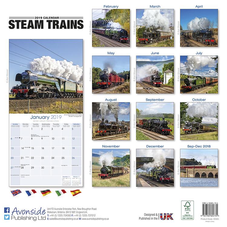 Steam Karte 20.Kalender 2020 Steam Trains