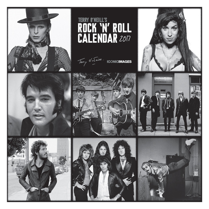 Terry O'Neill's Rock 'n' Roll Kalender 2018