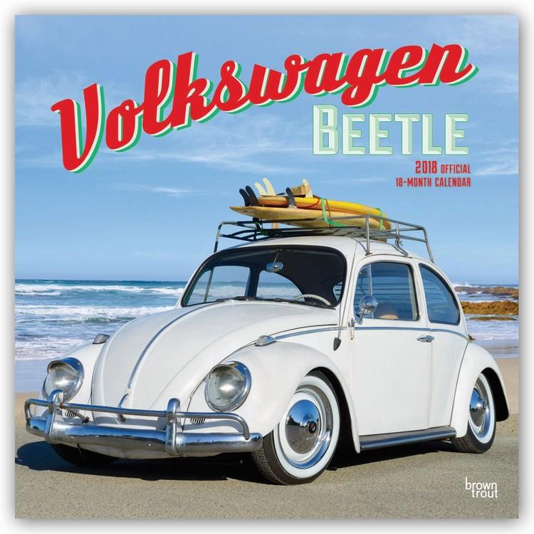 kalender 2019 volkswagen beetle bei europosters. Black Bedroom Furniture Sets. Home Design Ideas