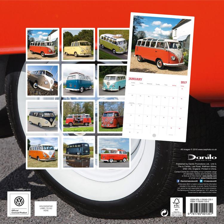 Kalender 2018 Volkswagen - Camper Vans