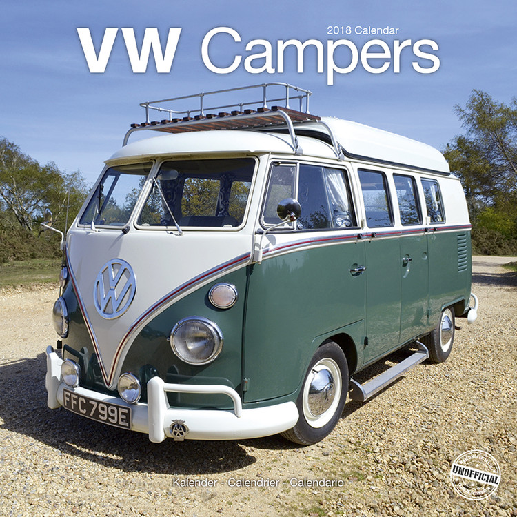 kalender 2019 vw campers. Black Bedroom Furniture Sets. Home Design Ideas