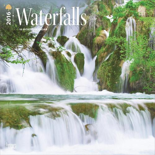 Kalender 2017 Wasserfall