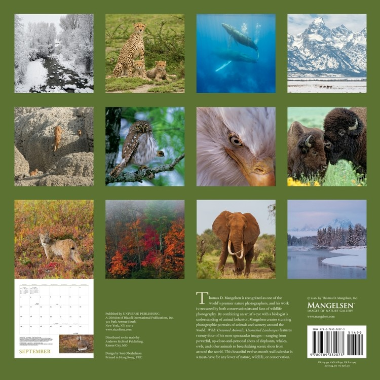 Kalender 2018 Wild Nature