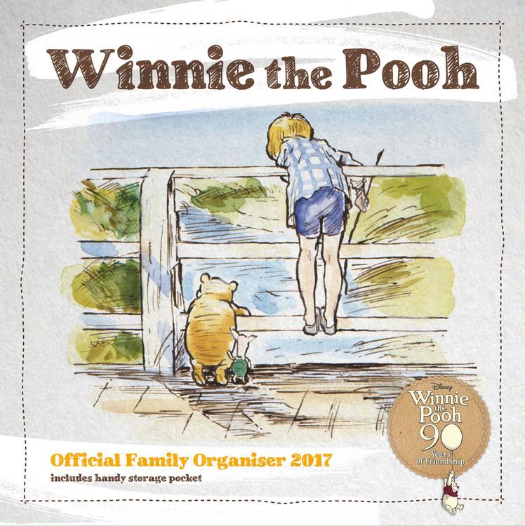 Kalender 2017 Winnie Puuh - Organiser