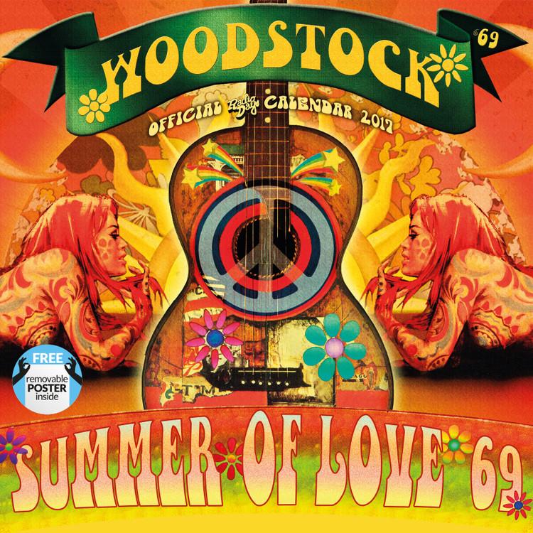 Kalender 2017 Woodstock