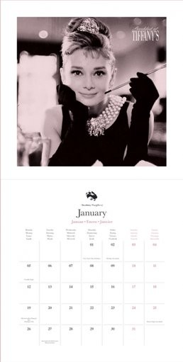 Audrey Hepburn Kalender 2019