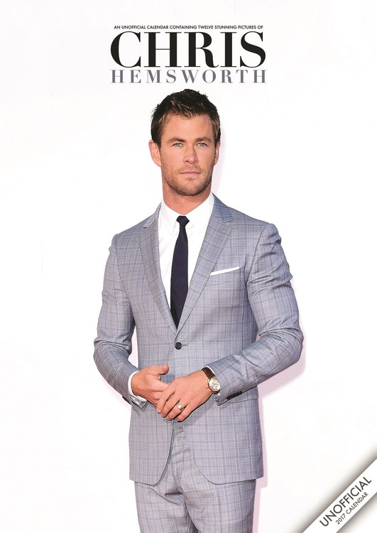 Chris Hemsworth Kalender 2018