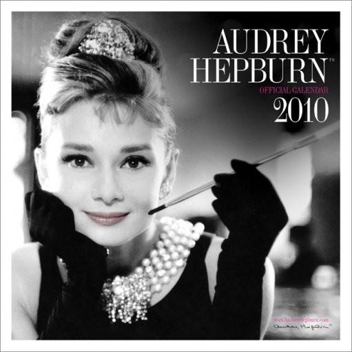 Kalendář 2010 Audrey Hepburn Kalender 2017