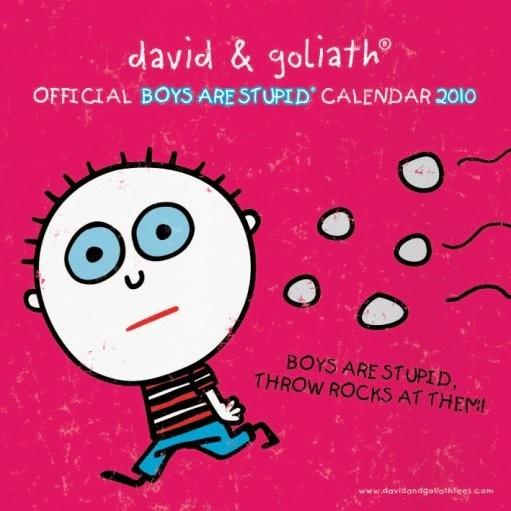 Kalendář 2010 D&G Boys are stupid Kalender 2017