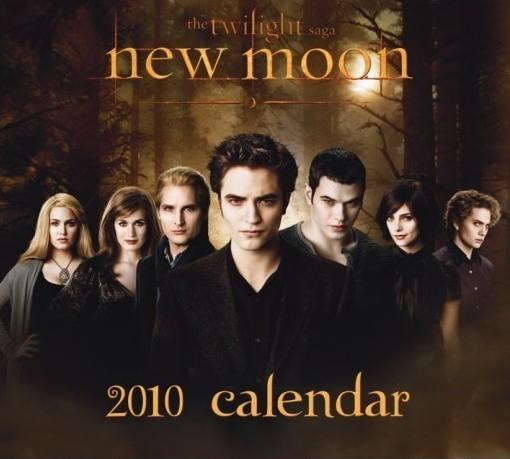 Kalendář 2010 Stmívání New Moon Kalender 2017