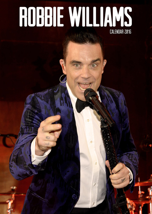 Robbie Williams Kalender 2018