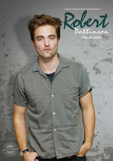 Robert Pattinson Kalender 2017