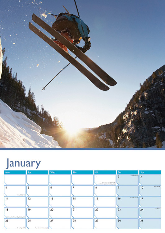 Skiløb Kalender 2018