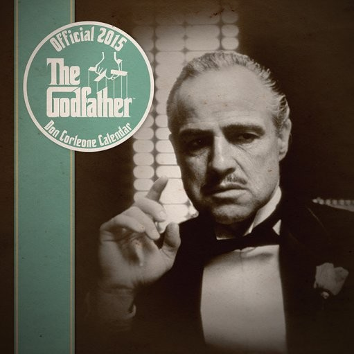 The Godfather - Don Corleone Kalender 2017