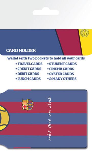Kartenhalter FC Barcelona - Messi Shirt