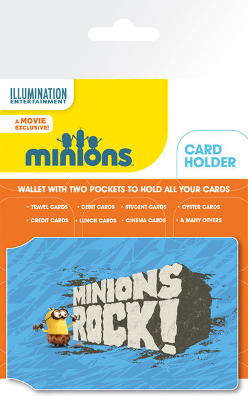 Kartenhalter Minions (Despicable Me - Rock