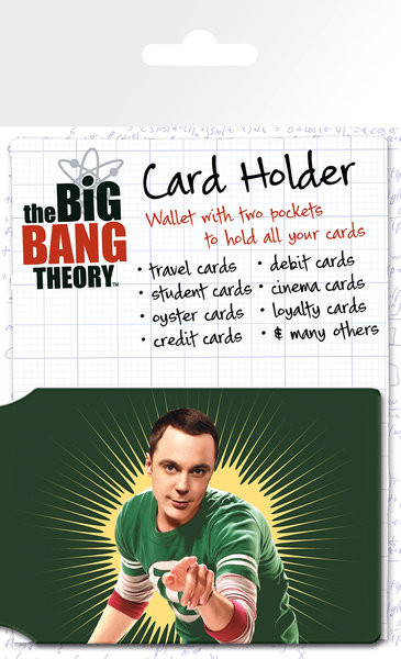 Kartenhalter The Big Bang Theory - Bazinga
