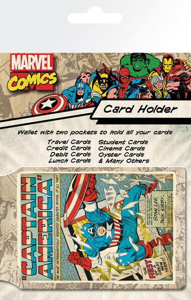 MARVEL - capitan america kártyatartó