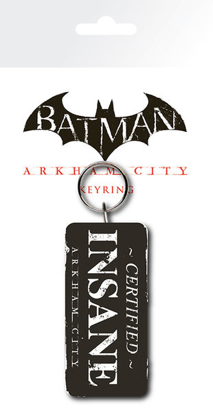 Batman: Arkham City - Certified Insane Llavero | Compra en EuroPosters