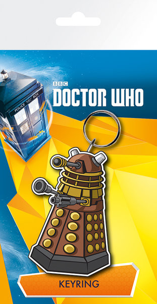 Llavero Doctor Who - Dalek Illustration