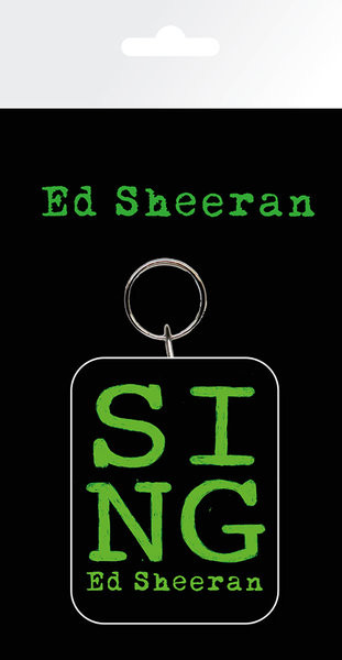 Llavero Ed Sheeran - Green