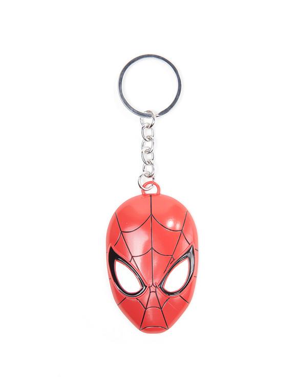 Llavero  Spiderman - 3D Metal Mask