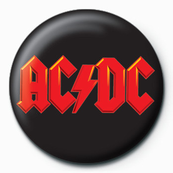 Kitűzők AC/DC (Logo)
