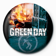 GREEN DAY - FIRE - Kitűzők
