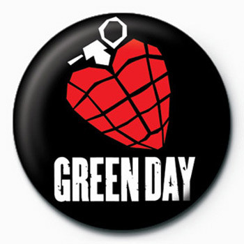 Kitűzők Green Day (Grenade)