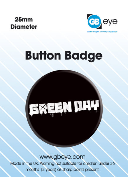 Kitűzők Green Day - logo