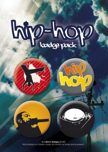 HIP HOP kitűző