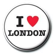 Kitűzők I LOVE LONDON