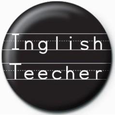 Kitűzők Inglish Teecher