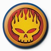 Kitűzők OFFSPRING - FLAME  HEAD