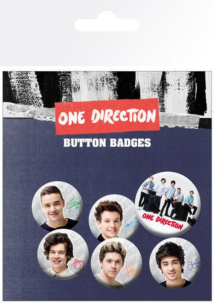 One Direction - Band kitűző