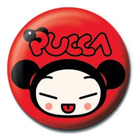 Kitűzők PUCCA - logo