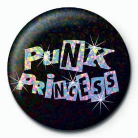 PUNK PRINCESS - Kitűzők