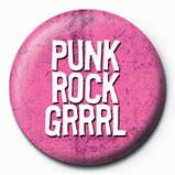 Kitűzők PUNK ROCK GIRL