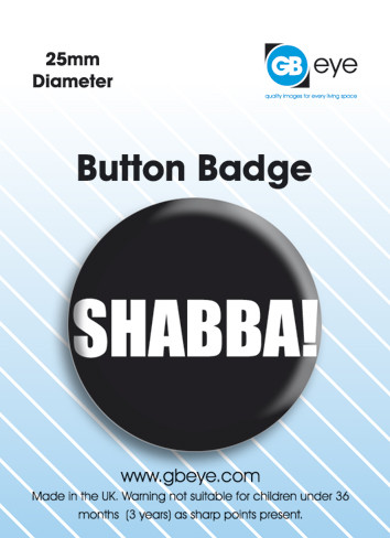 Kitűzők Shabba