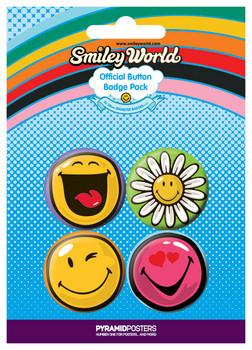 SMILEY kitűző