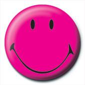 Kitűzők SMILEY - pink