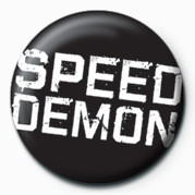 Kitűzők Speed Demon