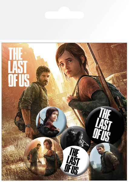 The Last of Us - Ellie And Joel kitűző