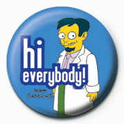 THE SIMPSONS - dr.nick hi everybody! - Kitűzők