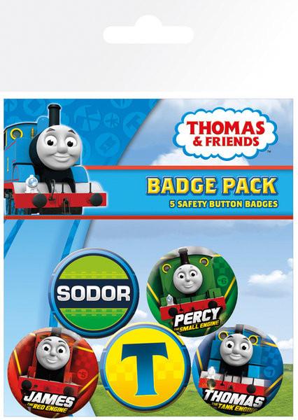 Thomas, a gőzmozdony - High Velocity kitűző