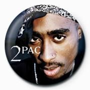 Kitűzők Tupac - Face