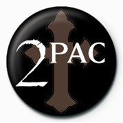 Kitűzők  Tupac - Logo