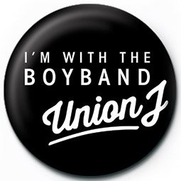 Kitűzők UNION J - i'm with the boyband