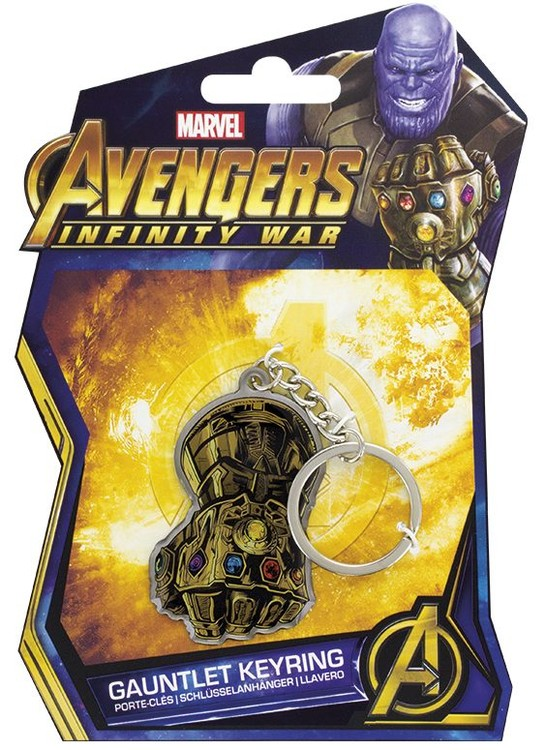 Klíčenka  Avengers: Infinity War - Gauntlet